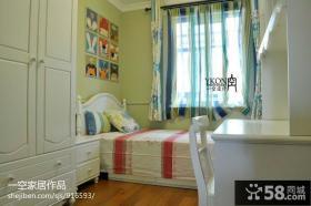 儿童房卧室衣柜装修图片