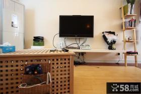 客厅简易背景墙设计