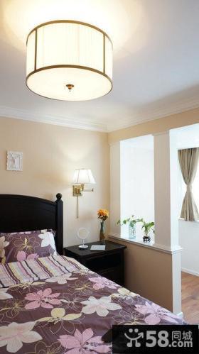 家庭卧室吸顶灯图片