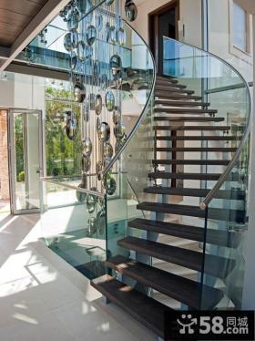 小别墅楼梯设计隔断