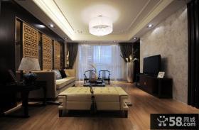中式古典客厅吊顶