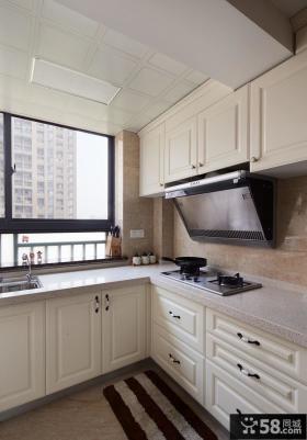 美式风格小户型厨房装修效果图