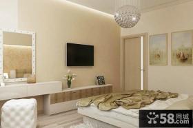 简易设计室内客厅电视背景墙效果图大全