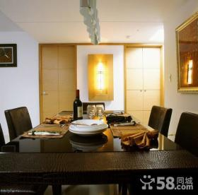 美式现代风格两居室装修图片