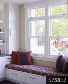 餐厅飘窗装修效果图 现代风格飘窗设计图