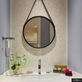 美式风格简约卫生间洗手台
