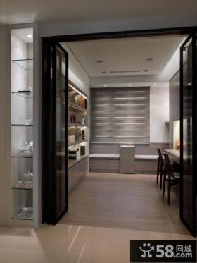 现代简约三居室家居设计装修图