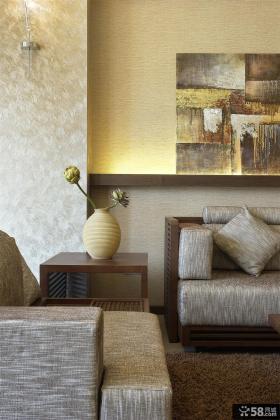 中式别墅客厅装饰效果图