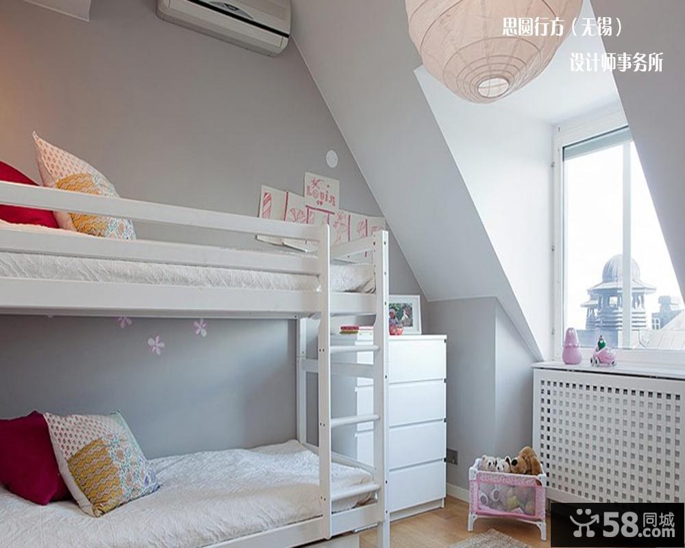 儿童房阁楼装修效果图