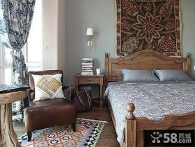 二居室家庭卧室装修效果图