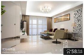 现代风格客厅家装设计效果图