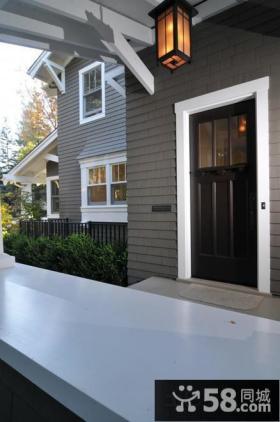 别墅实木烤漆门图片