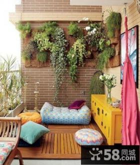 东南亚风格阳台设计图片
