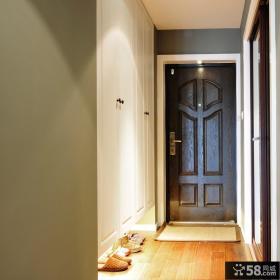 入户鞋柜玄关装修效果图