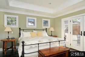 别墅卧室门装饰设计效果图