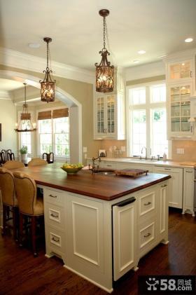 小户型开放式厨房装修效果图大全2013图片欣赏
