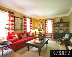 16万打造华美中式风格二居卧室装修效果图大全2014图片