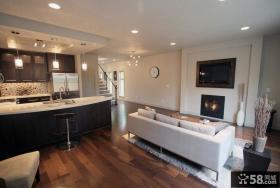 小复式客厅沙发装修效果图大全2012图片