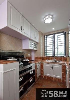 欧式宜家厨房装修设计效果图