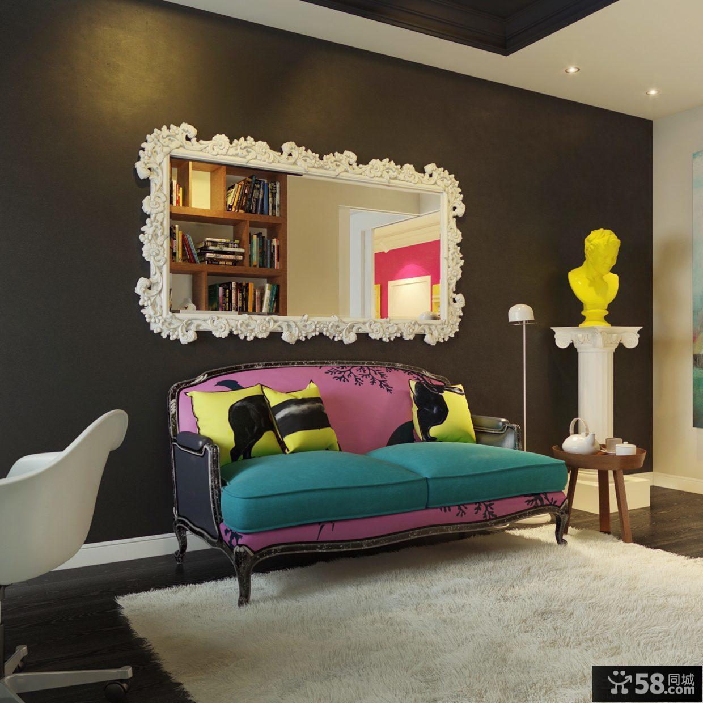 欧式客厅沙发图片欣赏2013