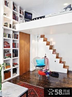 小阁楼楼梯装修效果图