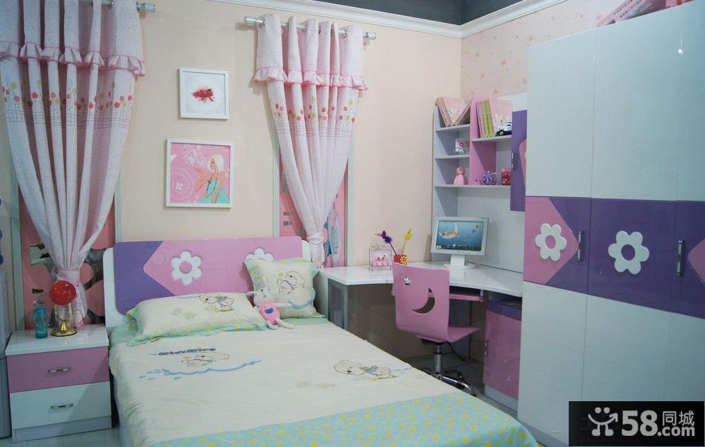 女儿童房装修效果图大全2015图片