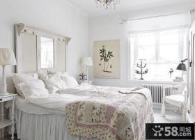 12平北欧风格装修卧室图片