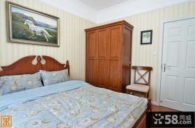 清新美式田园风格卧室