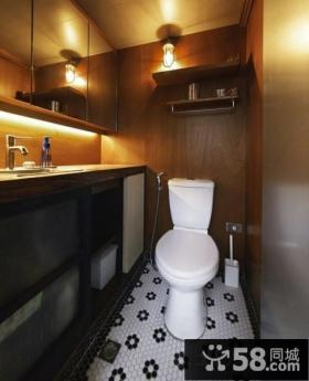 美式loft风格卫生间装修效果图