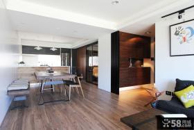 美式复古公寓装修案例图片