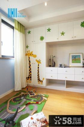 现代风格儿童房间贴纸图片