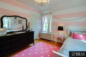 简约女生卧室装修效果图大全2013图片