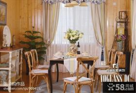 餐厅实木家具效果图欣赏