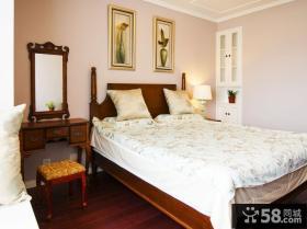 欧式复古设计别墅卧室效果图欣赏