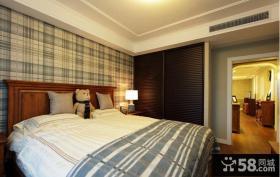 美式风格家居装修卧室效果图