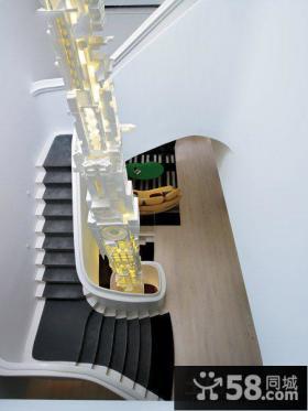 创意复式楼梯装修效果图2013