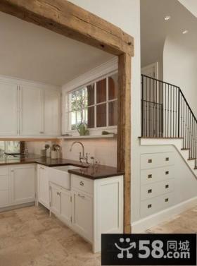小复式楼厨房装修效果图大全2013图片