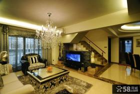 奢华低调新古典复式家居