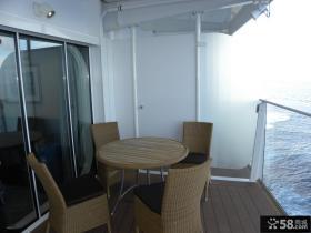 游艇休闲区阳台设计
