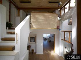 小复式楼楼梯效果图