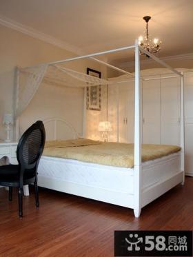 简欧式小户型卧室效果图