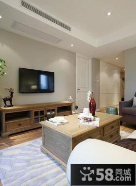 美式风格室内设计装修客厅电视背景墙图片大全