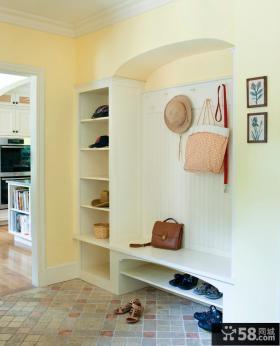 现代玄关鞋柜装修设计图
