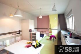 30平超小户型开放式卧室装修效果图大全2014图片