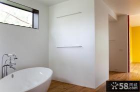 清新的美式风格卫生间装修效果图大全2012图片