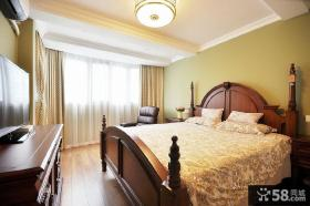 经典美式风格家居卧室图片