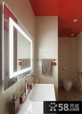 香港现代风格装修卫生间设计