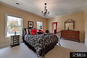 美式家庭设计卧室图片欣赏