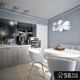 开放式厨房餐厅一体设计效果图大全