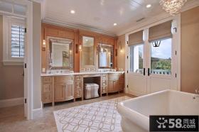 140万打造浪漫温馨欧式厨房橱柜装修效果图大全2014图片